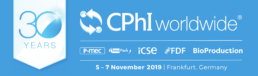 CPhI Worldwide 2019 - Frankfurt, Germany